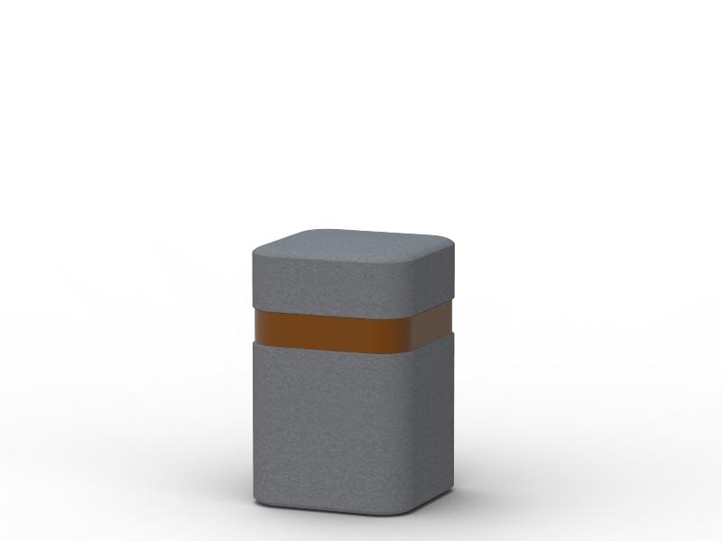 Słupek Genewa betonowy